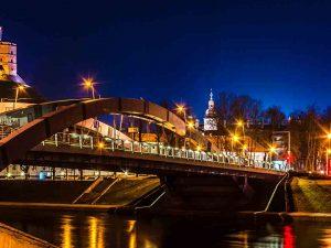 Baidariu nuoma Vilniuje naktį